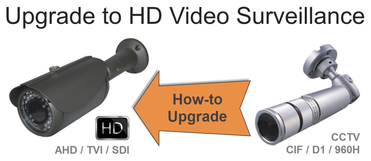 how to upgrade a cctv system to an hd security camera systemupgrade cctv system to hd security camera system