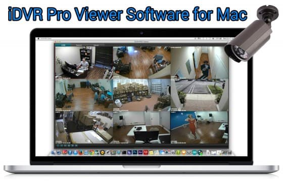 View CCTV Cameras from Mac Software