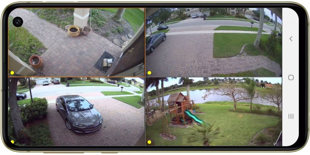 view security cameras android