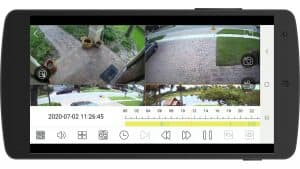 Remotely View Security Cameras with Viewtron Android App