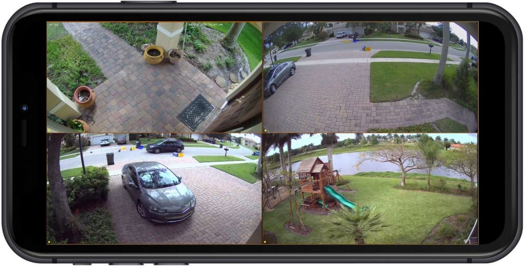 view security cameras iphone
