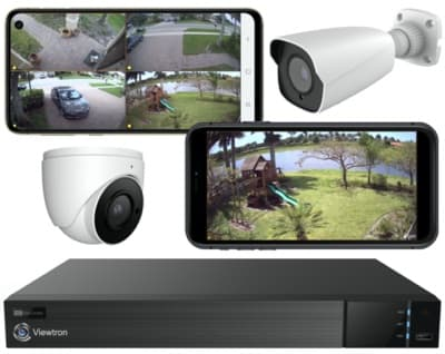 View Security Cameras from iPhone and Android