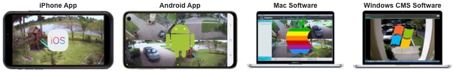 view security cameras remotely